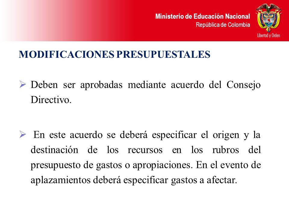 Ministerio de Educación Nacional República de Colombia TRASLADO ENTRE: FUNCIONAMIENTO E INVERSIÓN TRASLADO ENTRE: FUNCIONAMIENTO E INVERSIÓN REDUCCIÓN