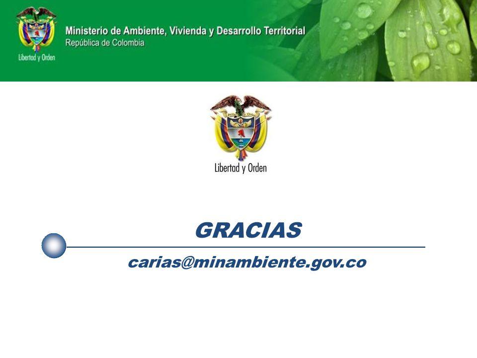 GRACIAS carias@minambiente.gov.co