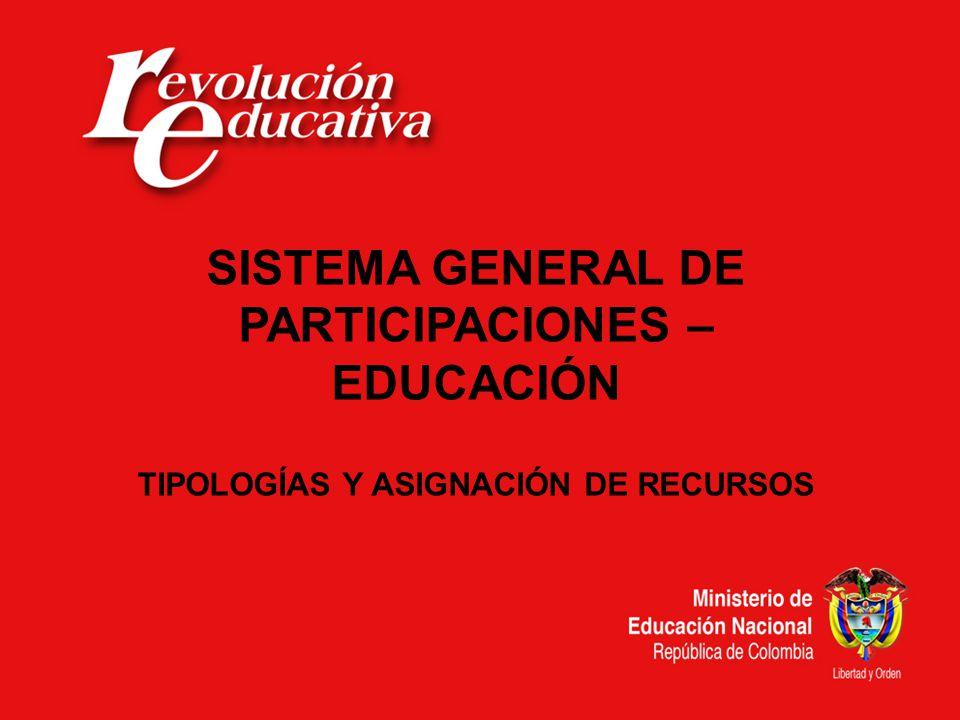 TABLA DE CONTENIDO I.CRITERIOS ASIGNACIÓN DE RECURSOS 2009 II.