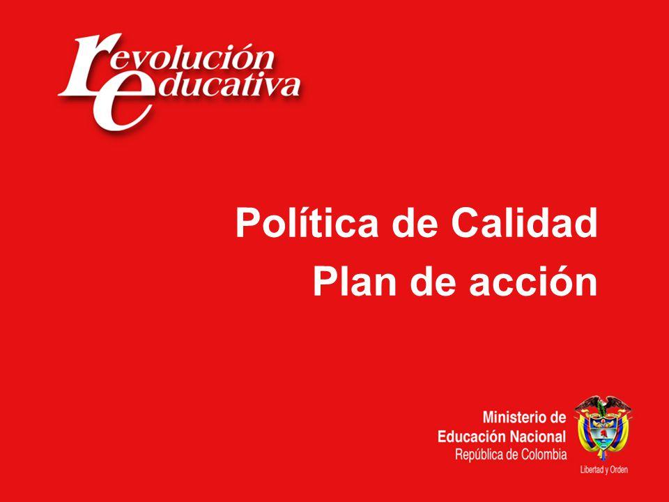 Fortalecimiento a la gestión institucional Asistencia técnica a las secretarías de educación.