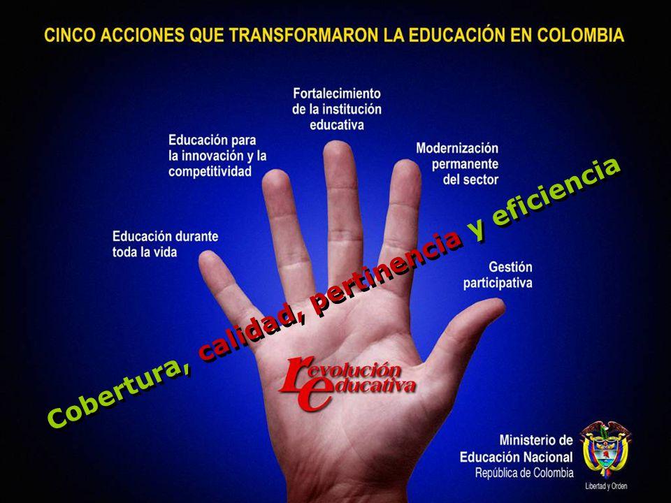 200720082009 MAGDALENACESARATLÁNTICO SANTA MARTANORTE DE SANTANDERBARRANQUILLA CIENAGACÚCUTASOLEDAD ARAUCASUCREVALLE DEL CAUCA NARIÑOSINCELEJOBUGA LA GUAJIRAFLORIDABLANCAPALMIRA URIBIAGIRÓNMAICAO CARTAGOCORDOBAPASTO CAUCASANTA CRUZ DE LORICACARTAGENA CALIMONTERÍAPUTUMAYO SANTANDERSAHAGÚNVILLAVICENCIO CHOCÓCAQUETAHUILA QUIBDOVILLAVICENCIOTOLIMA METAGIRARDOTSAN ANDRES VICHADASOACHACASANARE GUANIACUNDINAMARCAFLORENCIA VAUPESMAGANGUEENVIGADO TUMACOTURBOFUSAGASUGÁ BOLIVARPOPAYÁN BUENAVENTURASOGAMOSO SAN JOSE DEL GUAVIARE AMAZONAS Secretarías de educación focalizadas