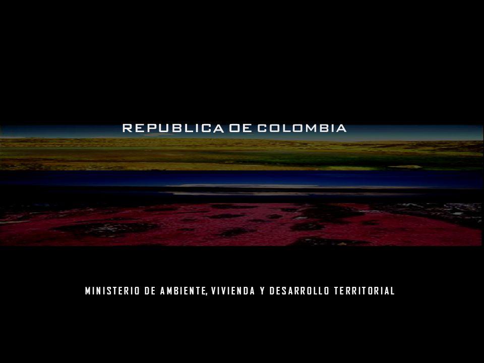 M I N I S T E R I O D E A M B I E N T E, V I V I E N D A Y D E S A R R O L L O T E R R I T O R I A L FORMULACIÓN Estudio de Estrategia para el MDL (MAVDT, 2000) Promover un portafolio dinámico de proyectos de reducción de emisiones por fuentes y sumideros Oficina Colombiana para la Mitigación del Cambio Climático (2002) – Estructura del MAVDT: Grupo de Mitigación del Cambio Climático Identificación de potenciales – Planes de trabajo intersectorial Sector minero – energético – MME (UPME) – MME (IPSE) Sector Transporte Sector agro - forestal