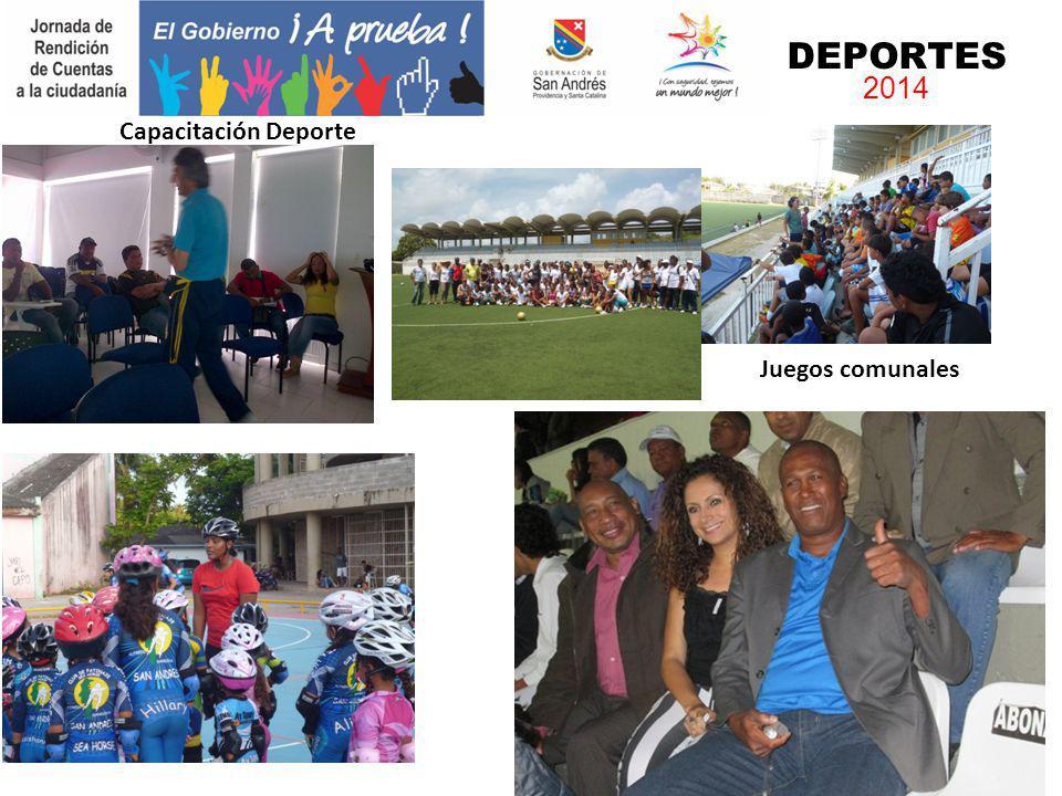 Capacitación Deporte Juegos comunales DEPORTES 2014