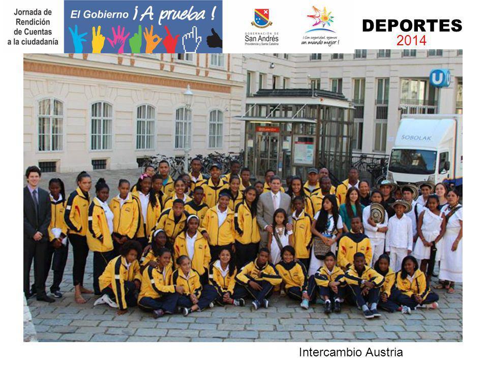 Intercambio Austria DEPORTES 2014