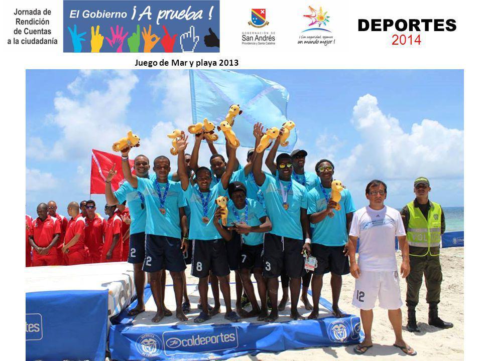 Juego de Mar y playa 2013 DEPORTES 2014