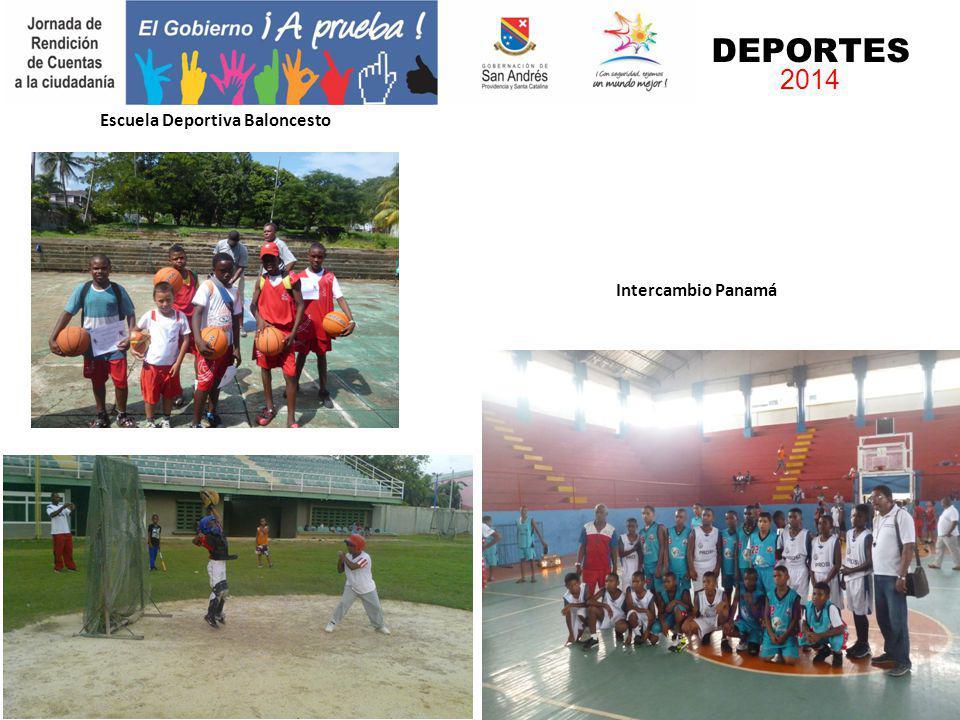 Escuela Atletismo Intercambio Panamá DEPORTES 2014 Escuela Deportiva Baloncesto