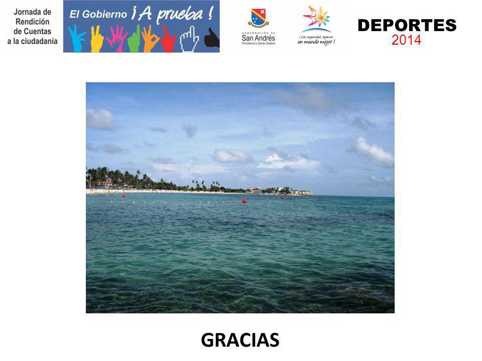 GRACIAS DEPORTES 2014