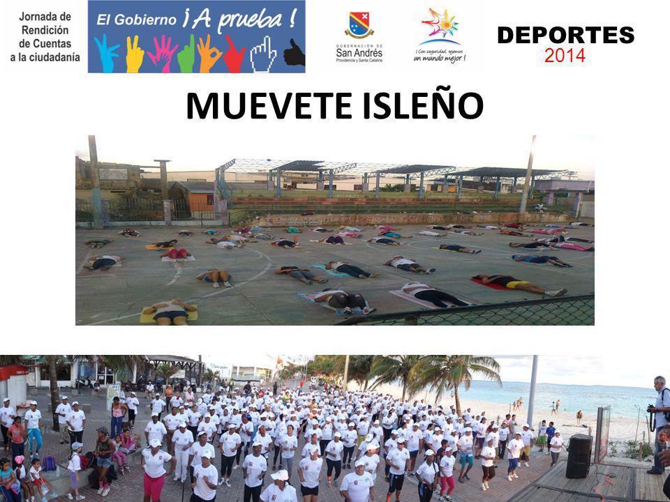 MUEVETE ISLEÑO DEPORTES 2014
