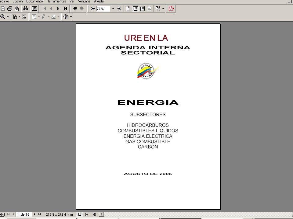 Cámara de Grandes Consumidores de Energía y Gas La AGENDA INTERNA.