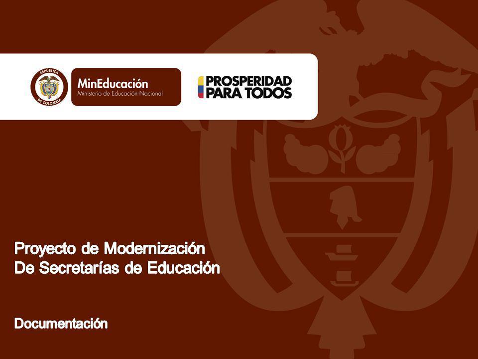 Documentación Objetivo Garantizar herramientas conceptuales y prácticas para la documentación del Sistema de Gestión de Calidad en Secretarias de Educación Objetivos Específicos -Determinar los conceptos básicos de documentación en el Sistema de Gestión de Calidad.