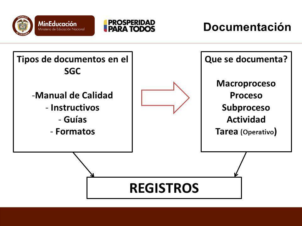 REGISTROS ES… Un documento que presenta resultados obtenidos o proporciona evidencia de actividades desempeñadas.