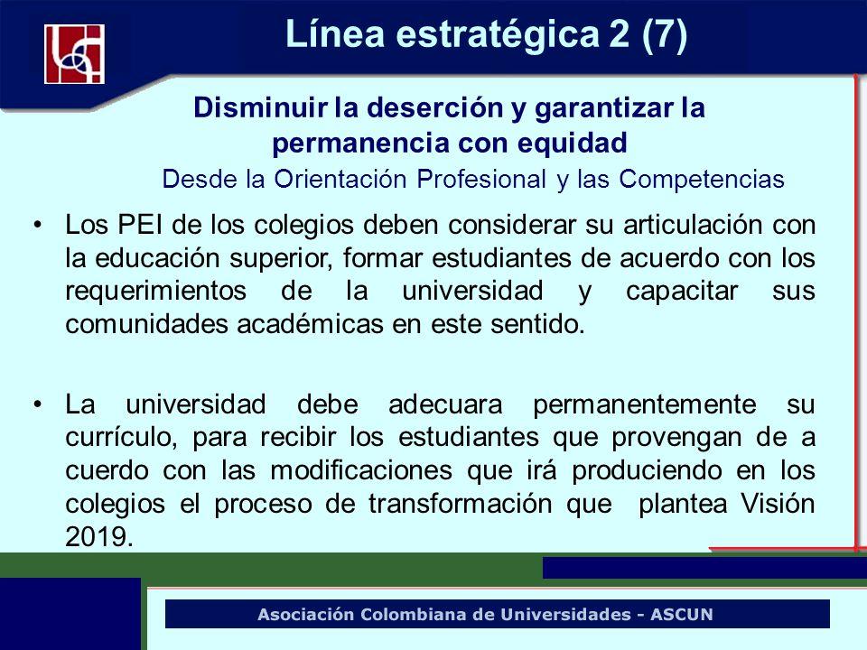 Los PEI de los colegios deben considerar su articulación con la educación superior, formar estudiantes de acuerdo con los requerimientos de la univers