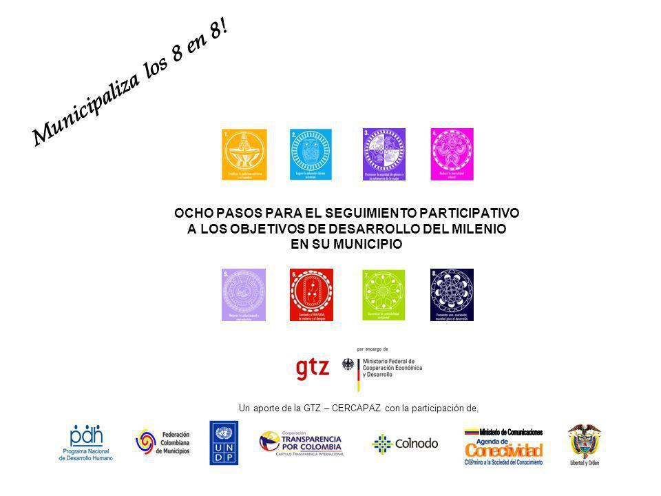 El compromiso de Colombia y 188 países más, al suscribir en el año 2000 la Declaración del Milenio, está orientado a asegurar una vida digna a las personas con mayor vulnerabilidad y pobreza.