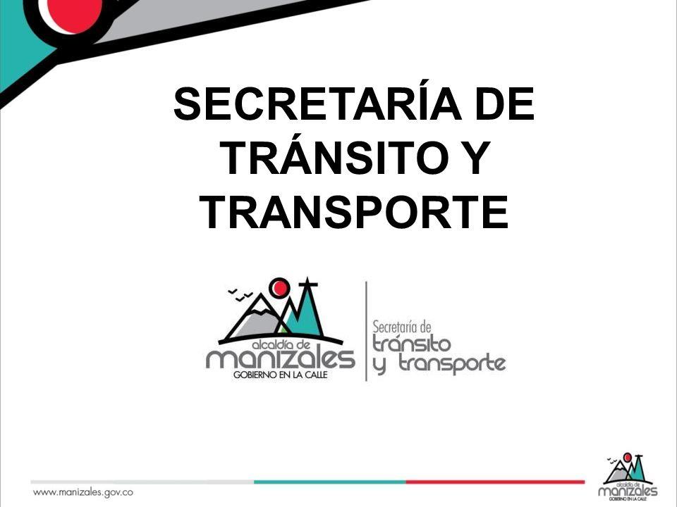 SECRETARÍA DE TRÁNSITO Y TRANSPORTE