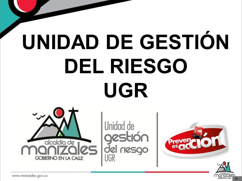UNIDAD DE GESTIÓN DEL RIESGO UGR