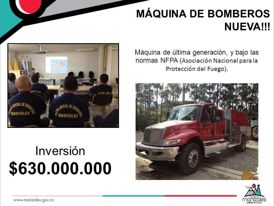 MÁQUINA DE BOMBEROS NUEVA!!! Máquina de última generación, y bajo las normas NFPA ( Asociación Nacional para la Protección del Fuego). Inversión $630.