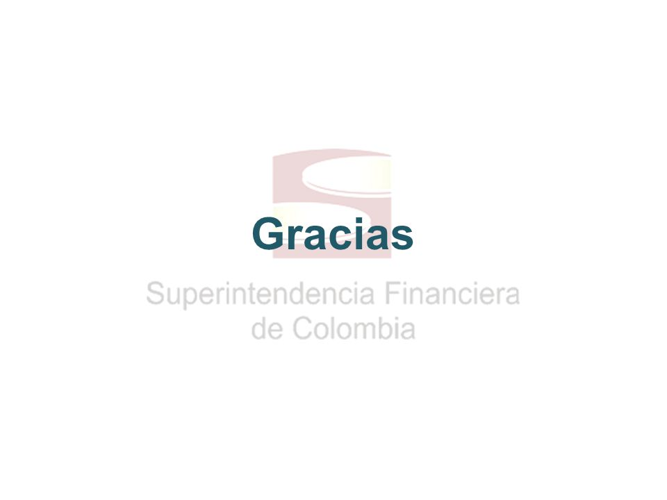 12 Superfinanciera, primera en transparencia Gracias