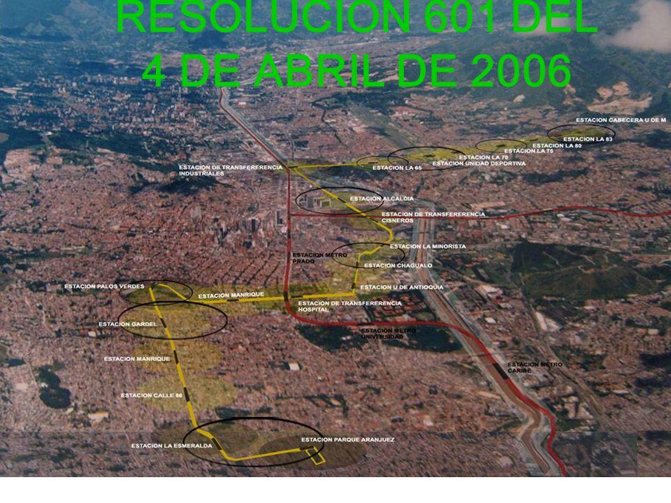 RESOLUCION 601 DEL 4 DE ABRIL DE 2006