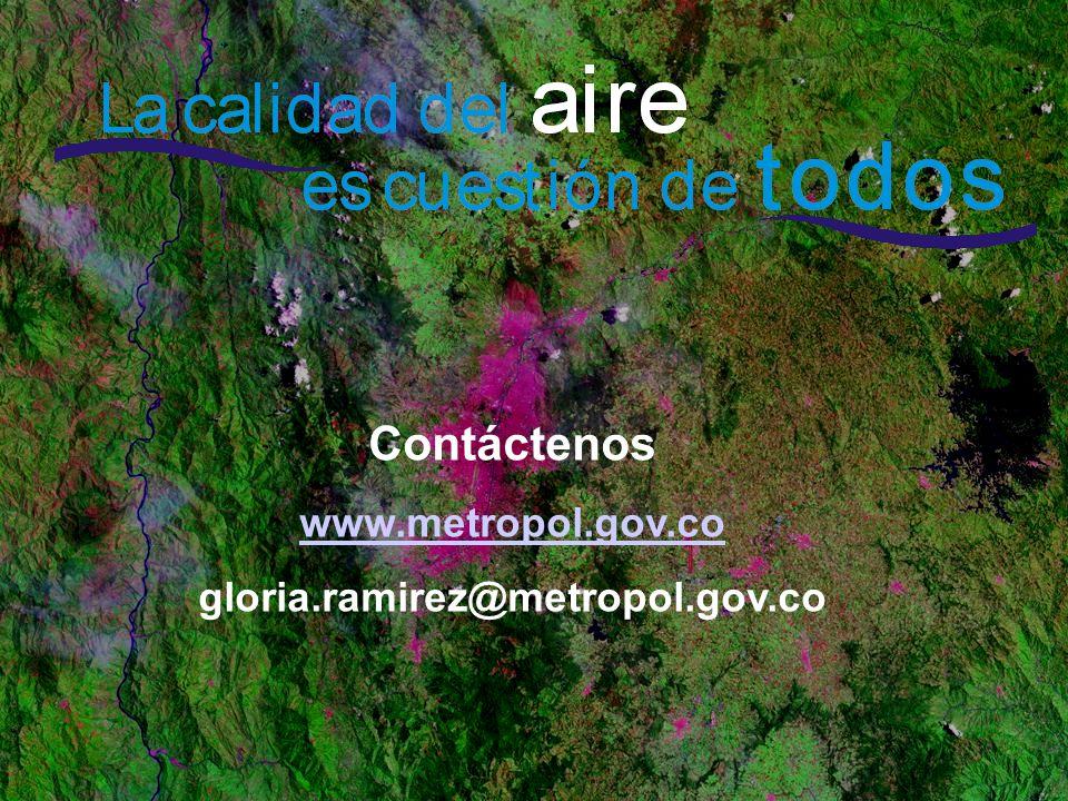 Contáctenos www.metropol.gov.co gloria.ramirez@metropol.gov.co