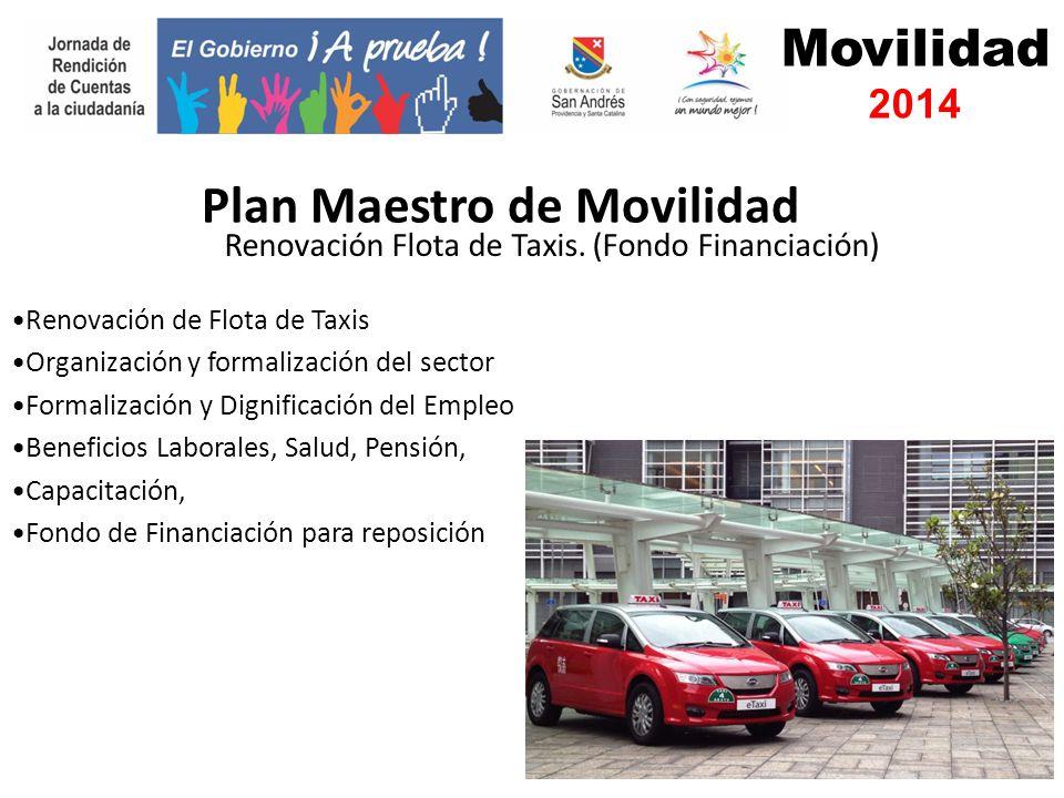 Movilidad 2014 Renovación Flota de Taxis.