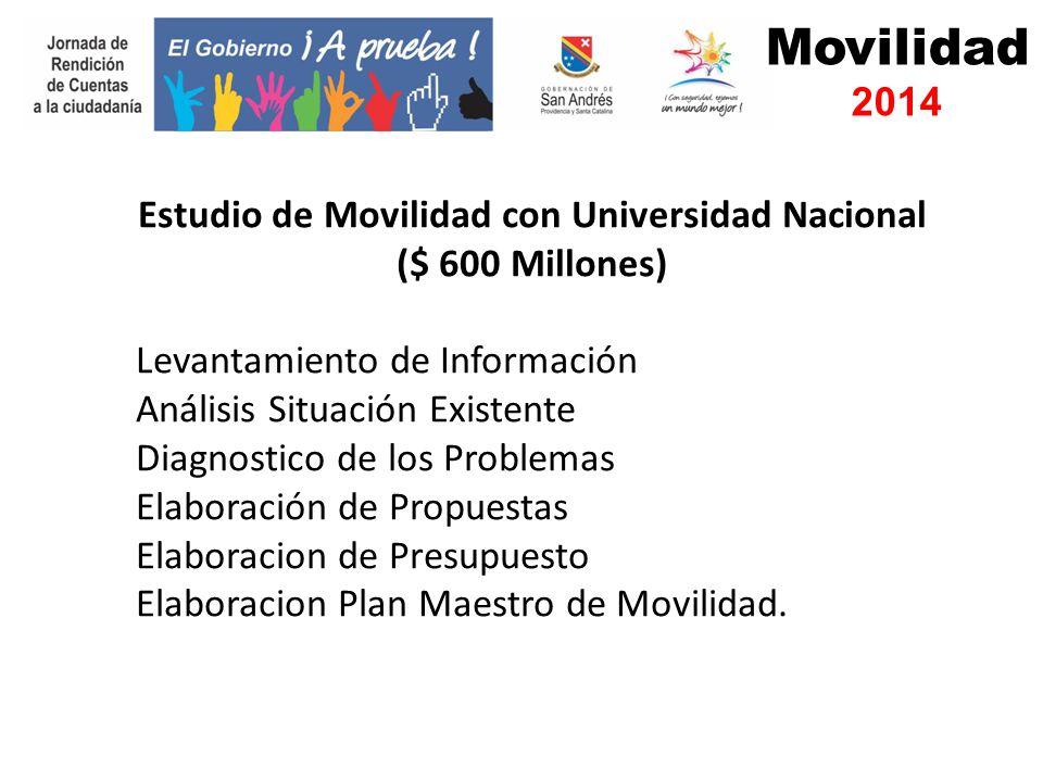 Movilidad 2014 Proyecto Puerto Cruceros. Plan Maestro de Movilidad