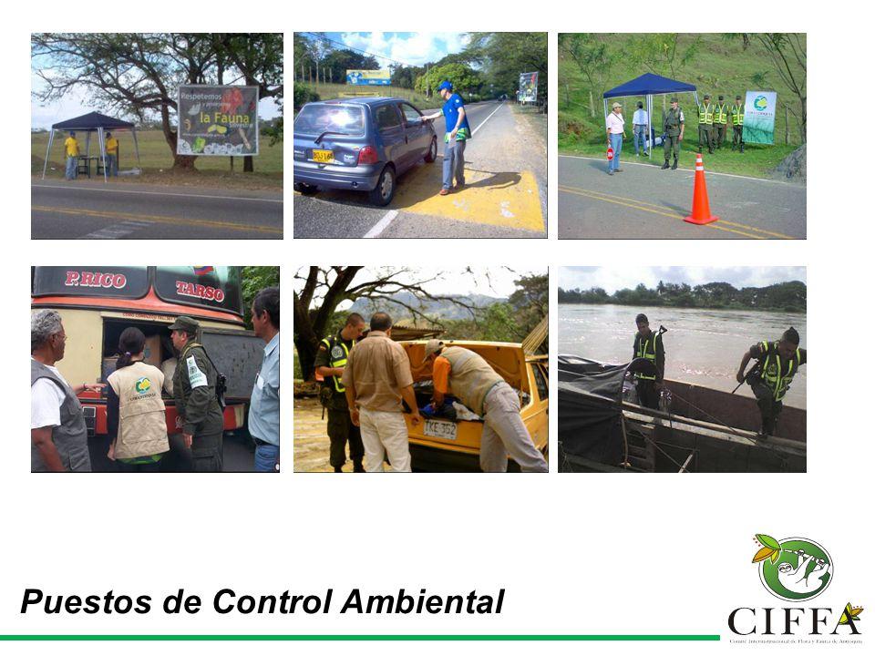 Puestos de Control Ambiental