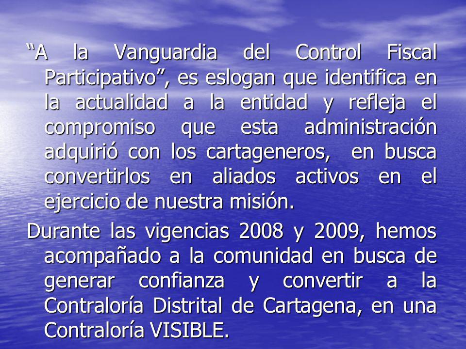 CONTROL FISCAL PARTICIPATIVO ACOMPAÑAMIENTO A LA COMUNIDAD.
