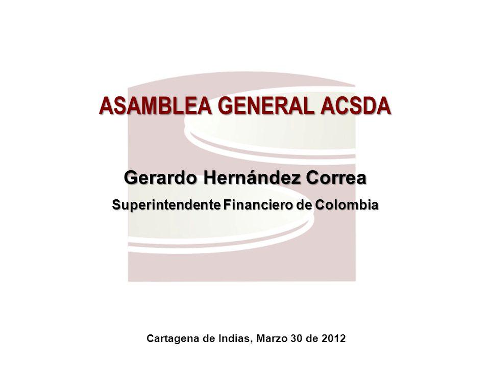 Superfinanciera, Primera en Transparencia 13 1.Proveedores de Infraestructura en Colombia 2.El rol del supervisor en los proveedores de infraestructura Agenda