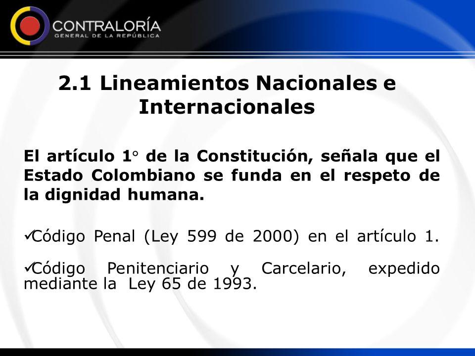 El artículo 1° de la Constitución, señala que el Estado Colombiano se funda en el respeto de la dignidad humana. Código Penal (Ley 599 de 2000) en el