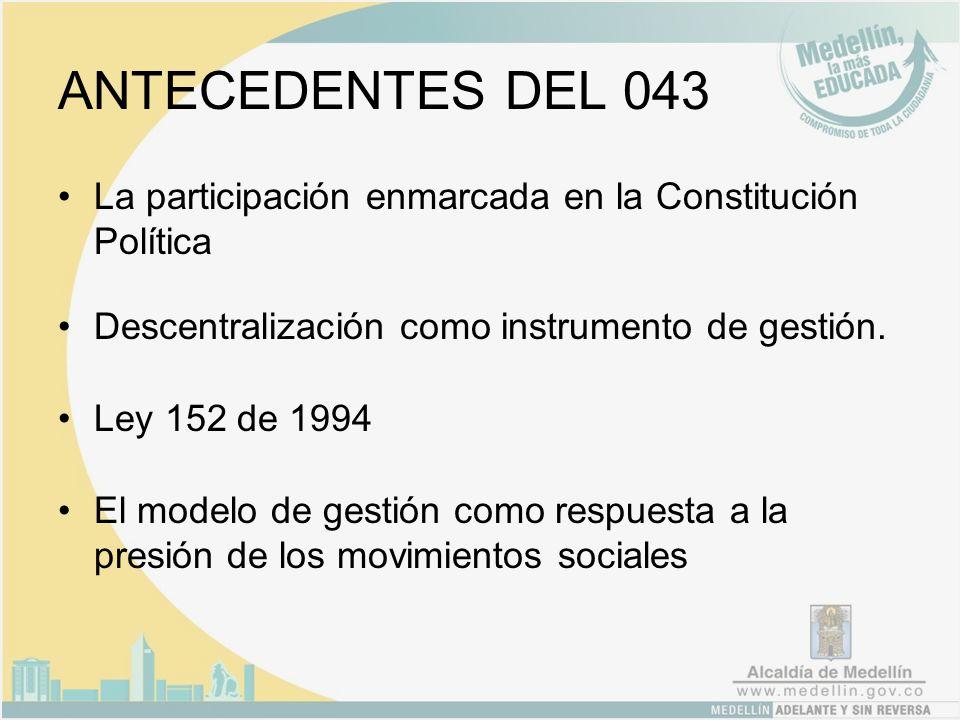 Insumos del subsistema Plan de Ordenamiento Territorial Resultados de las Asambleas Barriales y Veredales.