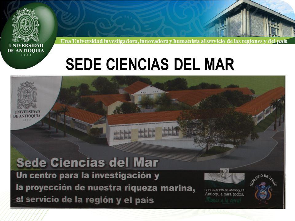 Una Universidad investigadora, innovadora y humanista al servicio de las regiones y del país PANORÁMICA DE LA CIUDAD DE TURBO