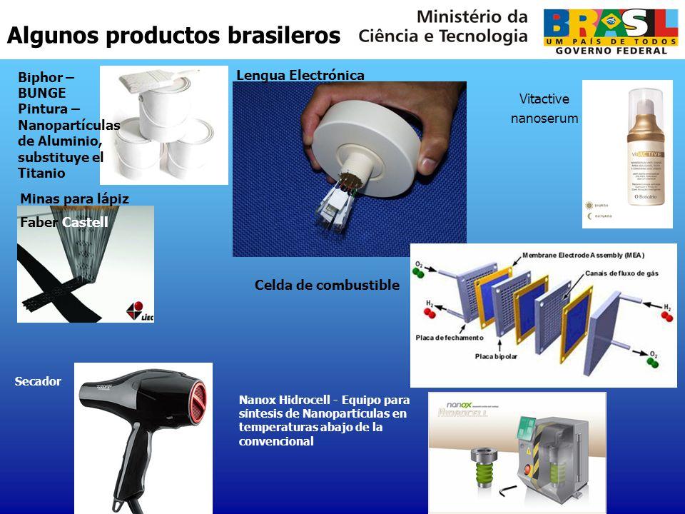 Algunos productos brasileros Biphor – BUNGE Pintura – Nanopartículas de Aluminio, substituye el Titanio Lengua Electrónica Minas para lápiz Faber Cast