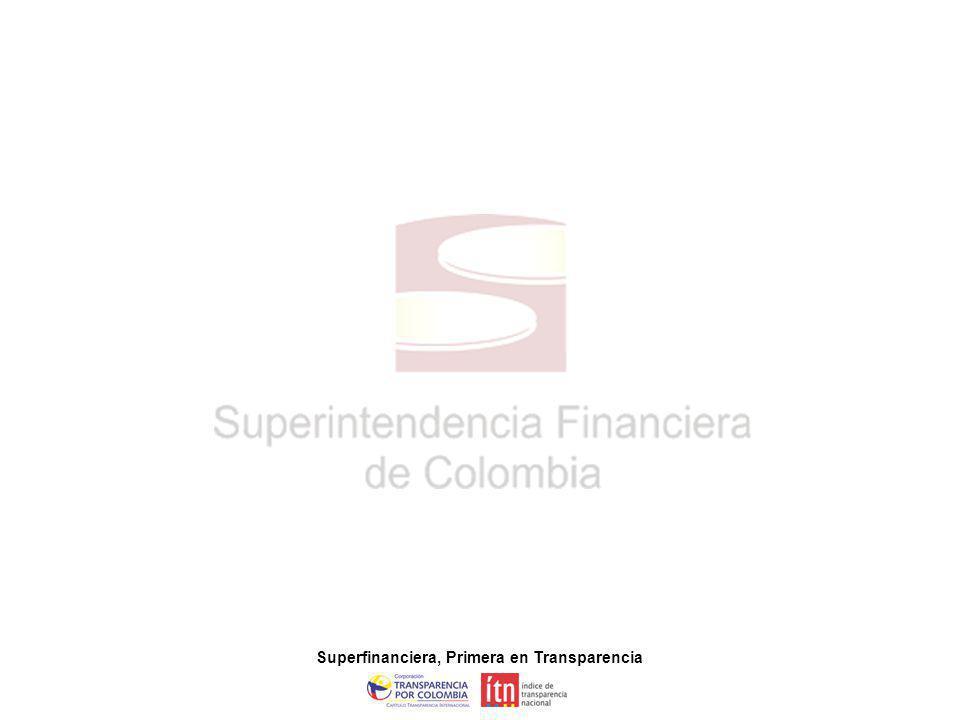 Superfinanciera, Primera en Transparencia 22 Disposiciones Generales Lineamientos que deben seguir los actuarios en la presentación del informe mensual, donde se certifica la suficiencia de las reservas de la compañía.