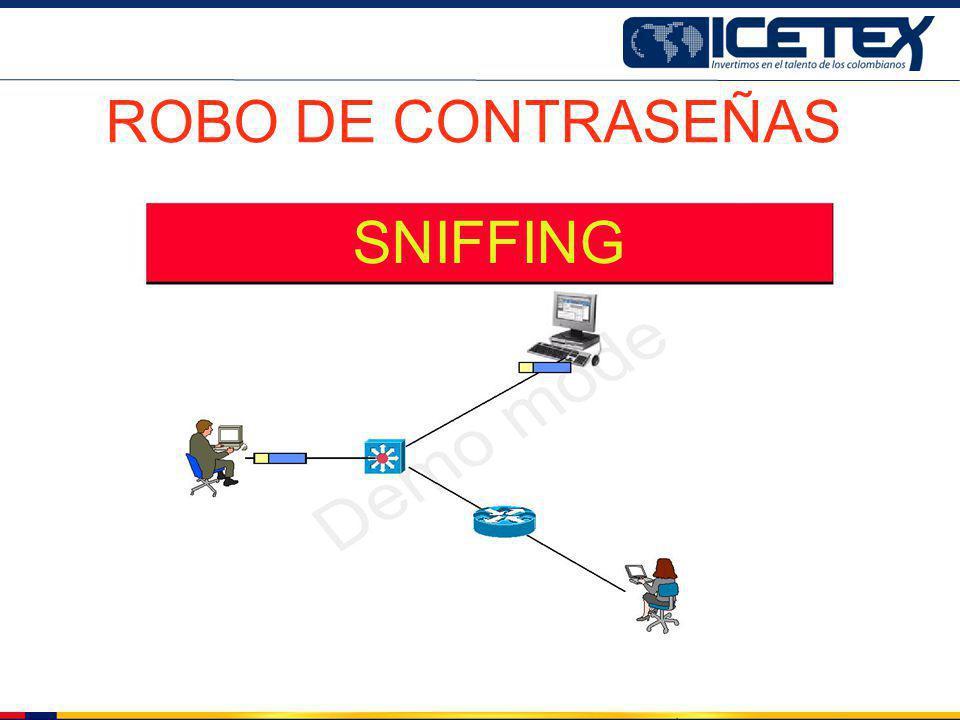SNIFFING ROBO DE CONTRASEÑAS