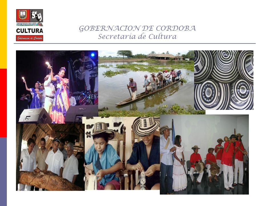 GOBERNACION DE CORDOBA Secretaria de Cultura LOGROS Y ACTIVIDADES FORMACION A BIBLOTECARIOS, PLAN DE CONCERTACION NACIONAL