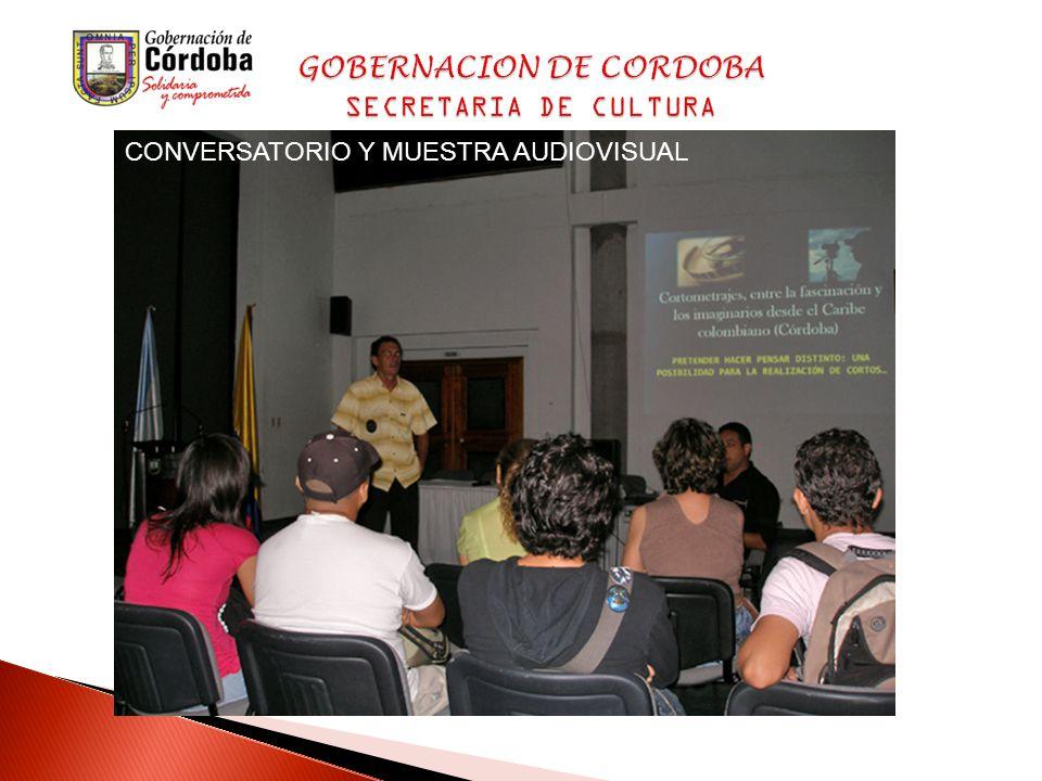 CONVERSATORIO Y MUESTRA AUDIOVISUAL