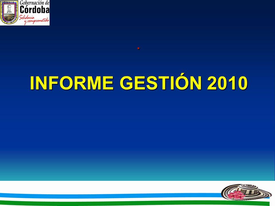 . INFORME GESTIÓN 2010