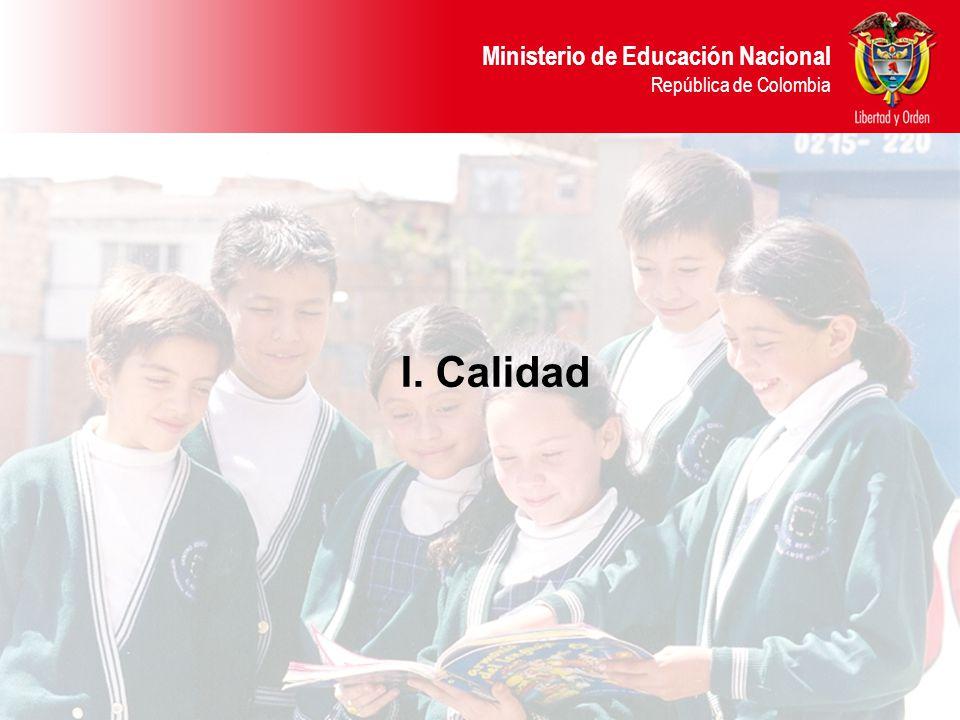 Ministerio de Educación Nacional República de Colombia FORMACIÓN DURANTE TODA LA VIDA BÁSICA SECUNDARIA MEDIA TECNICA PROFESIONAL TECNOLÓGICA PROFESIONAL UNIVERSITARIA COMPETENCIAS BÁSICAS Prueba SABER 5° Prueba SABER 9° Prueba de Estado 11° Pruebas ECAES COMPETENCIAS LABORALES ESPECÍFICAS Y PROFESIONALES COMPETENCIAS LABORALES GENERALES SUPERIOR PRIMERA INFANCIA POSGRADOS Competencias como eje articulador 1.