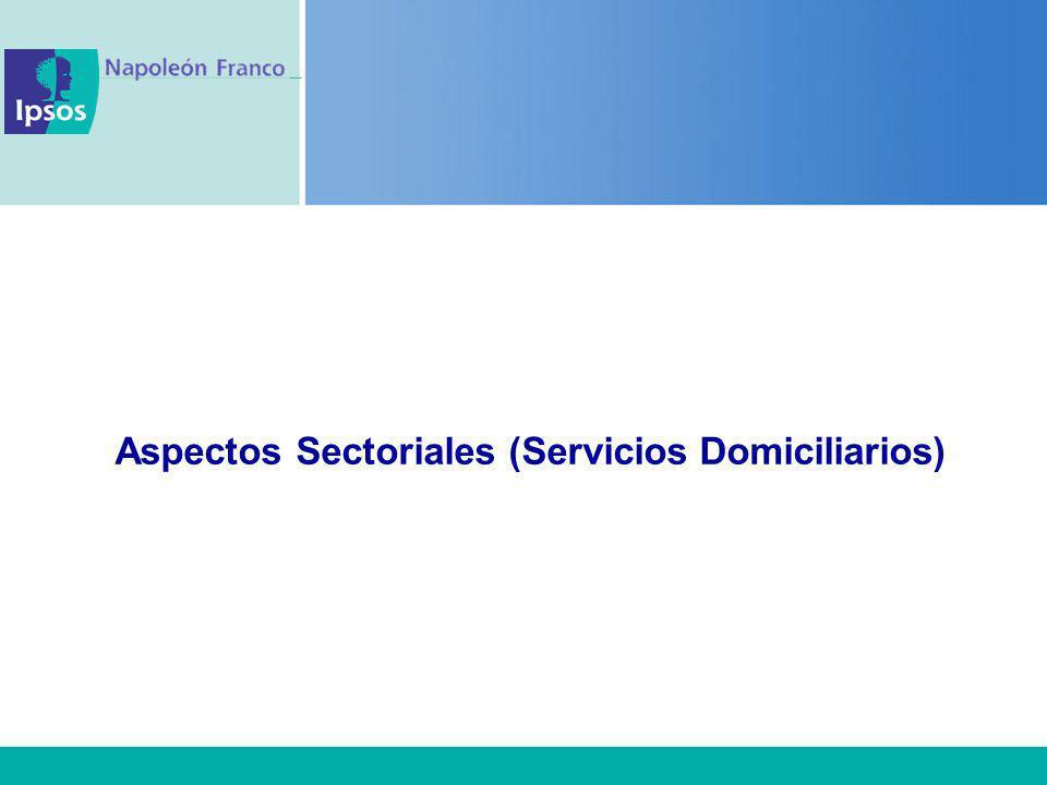 Aspectos Sectoriales (Servicios Domiciliarios)