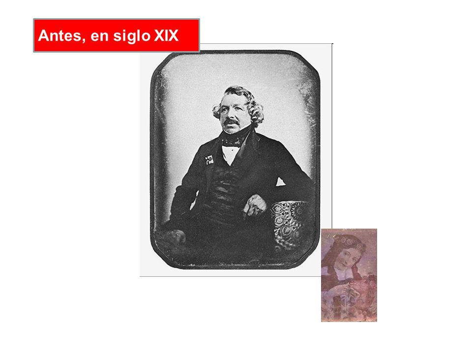 Antes, en siglo XIX