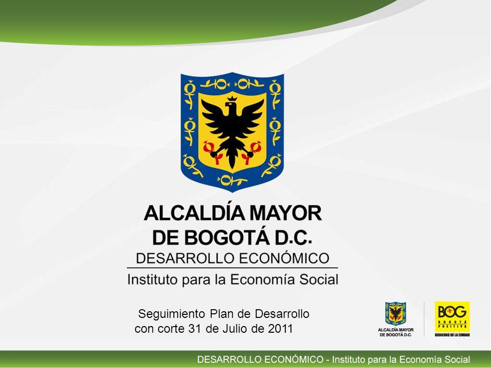 Seguimiento Plan de Desarrollo con corte 31 de Julio de 2011
