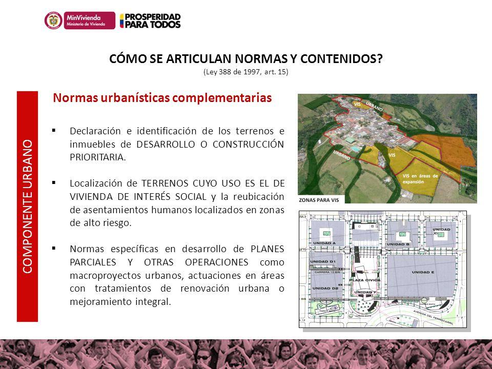 Declaración e identificación de los terrenos e inmuebles de DESARROLLO O CONSTRUCCIÓN PRIORITARIA. Localización de TERRENOS CUYO USO ES EL DE VIVIENDA
