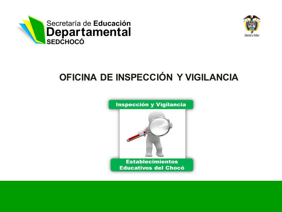OFICINA DE INSPECCIÓN Y VIGILANCIA