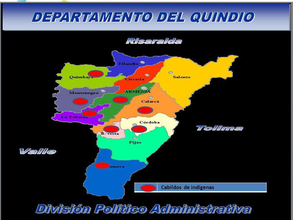 Organizaciones Indígenas del Quindio ORIQUIN: Organización Regional Indígena del Quindio.