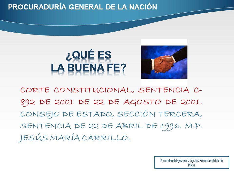 CORTE CONSTITUCIONAL, SENTENCIA C- 892 DE 2001 DE 22 DE AGOSTO DE 2001.