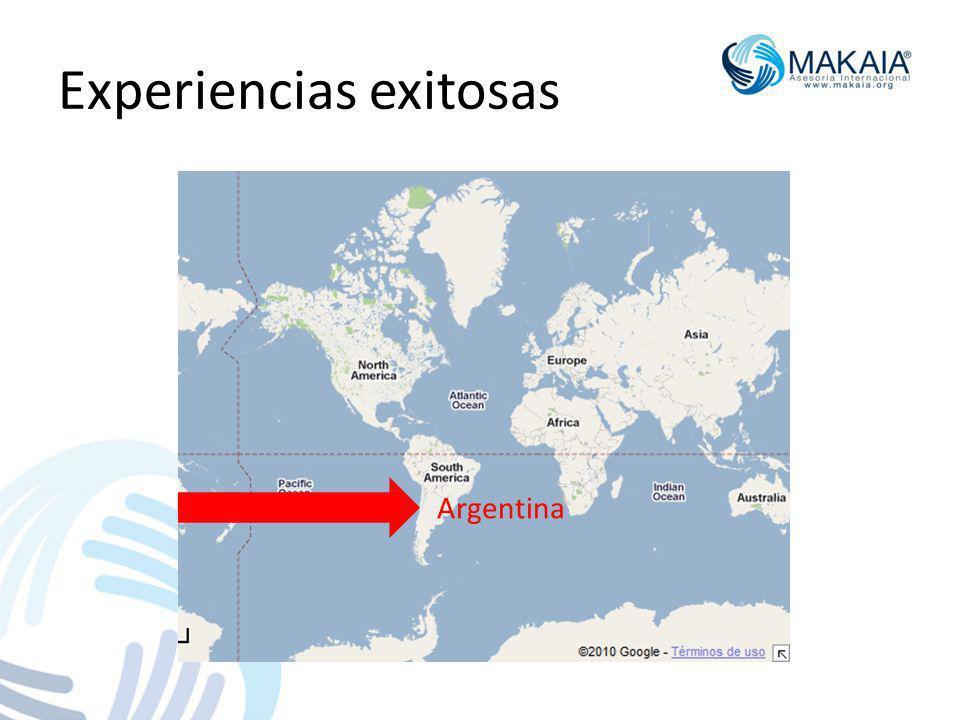 Experiencias exitosas Argentina