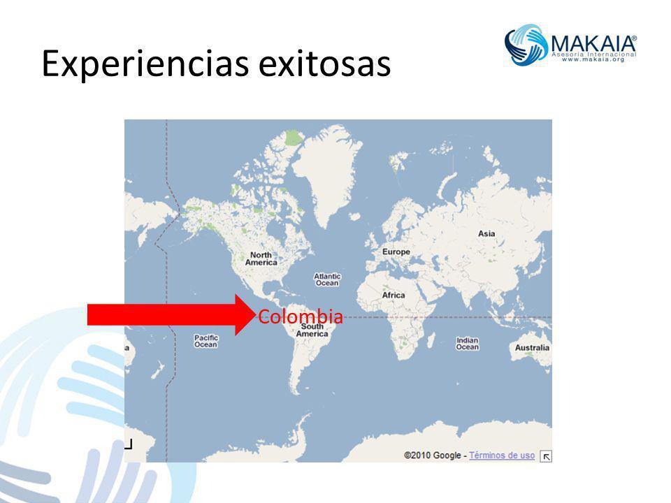 Experiencias exitosas Colombia