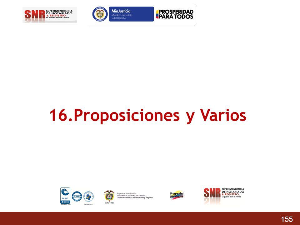 16.Proposiciones y Varios 155
