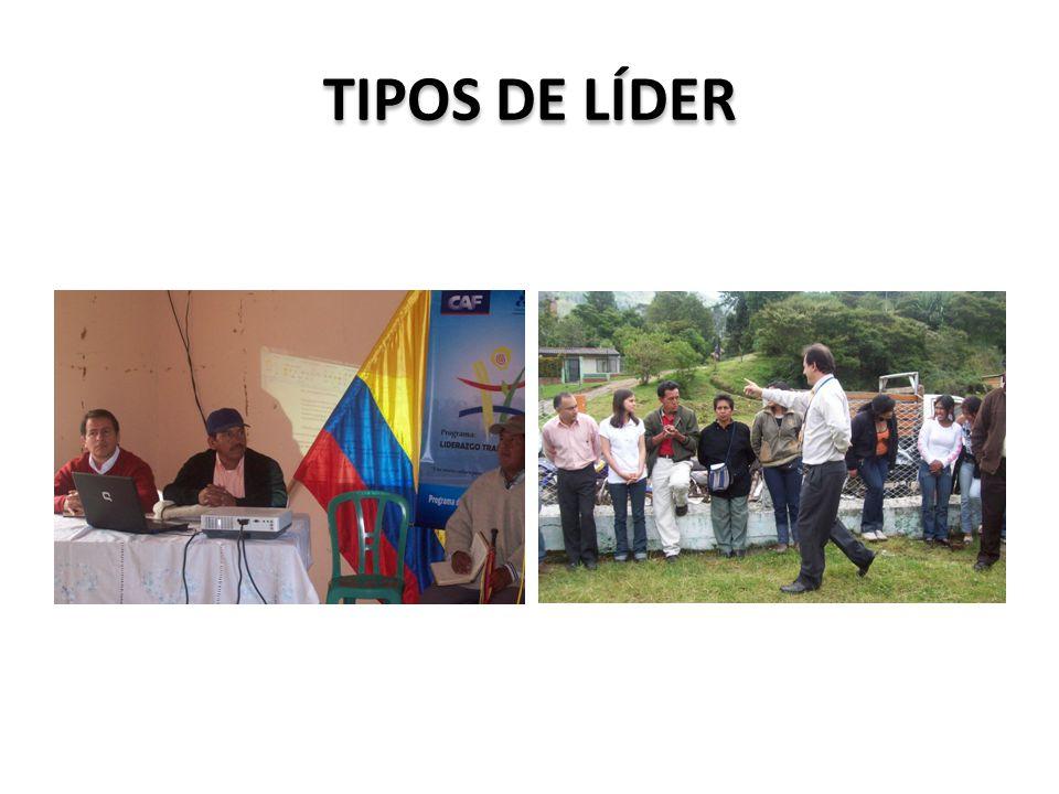TIPOS DE LÍDER