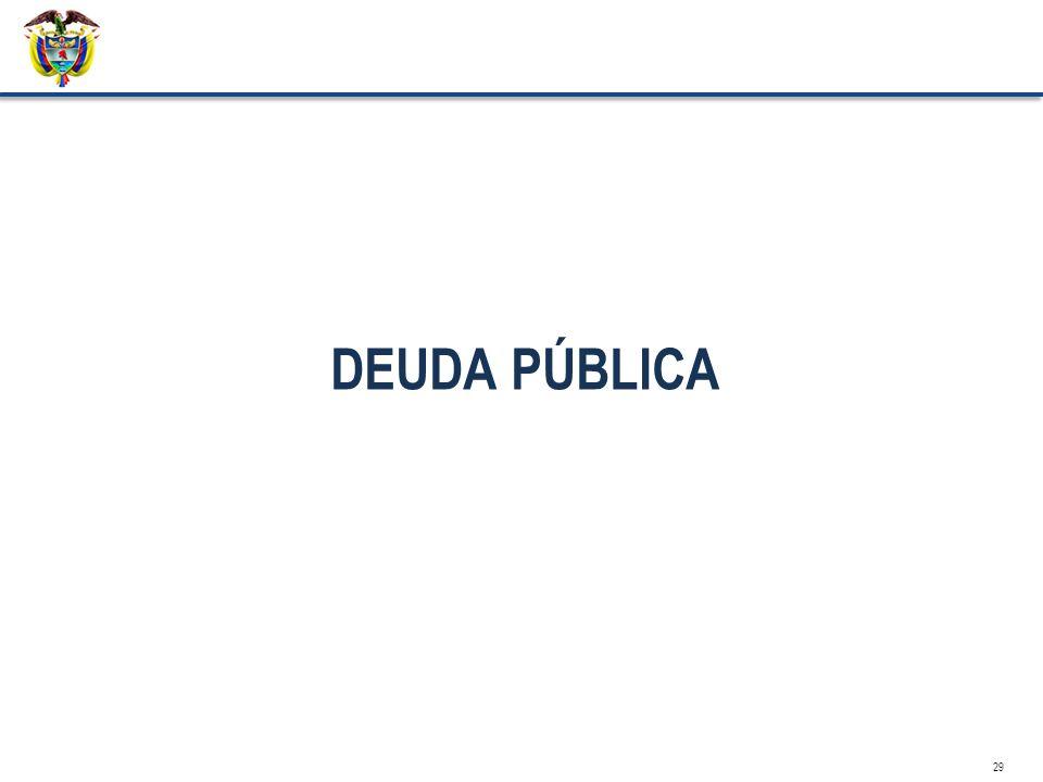 DEUDA PÚBLICA 29